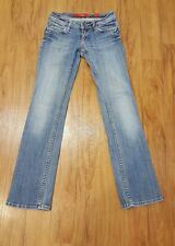 Woman:s QS by S.Oliver Blue Jeans Catie Slim Low Straight 28 X 30