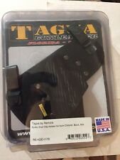 Tagua Kydex Dual Clip Holster, Black, RH  for Kahr CW9 40 RE-KDC-1170