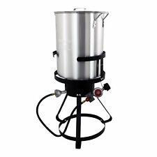 Chard Propane Gas Backyard / Camping / Kitchen 30 Quart Turkey Deep Fat Fryer