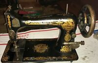Antique Vintage Singer 1895 Treadle Sphinx Egyptian Design Sewing Machine