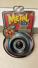 New Metal Tech Responsive Yoyo Black Metal Body, Roller Bearing Axle Spin Pro