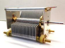 High Voltage Air Variable Capacitors 16-604pF/ 1.1K- Amplifier/Tuner REPAIR DIY