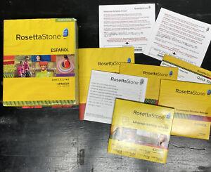 Rosetta Stone English (American) Level 1, 2, 3, 4 & 5 Homeschool Edition V3