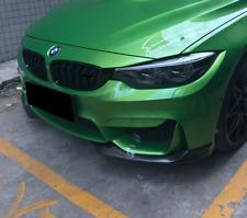 Carbon Lippe 2 teillig Frontspoiler Schwert Splitter passt für BMW M3 F80 M4 F82