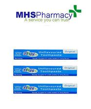Oranurse 50ml Unflavoured Toothpaste - 3 Pack