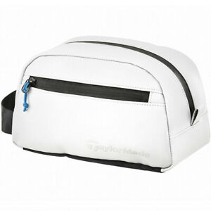 TaylorMade City-Tech Accessory Pouch Case Golf Travel Sports Bag (White) TB674