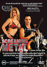 HARLEY OUTLAW BIKER GANG MOVIE - SCREAMING METAL DVD