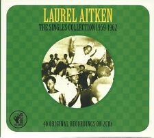 LAUREL AITKEN THE SINGLES COLLECTION 1959 - 1962, SWEET CHARIOT & MORE - 2 CD'S