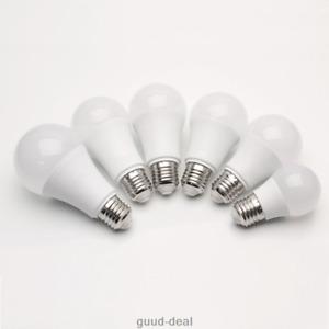 220V E27 Schraube LED Glühbirne Lampe Licht 3W 5W 12W 15W 18W 20W Warmweiß 230V