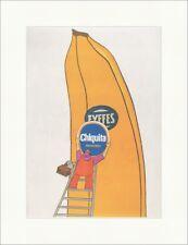 La Chiquita Banana marchio imprese MANIFESTO Pubblicità stampa D'ARTE MANIFESTO MONDO 429