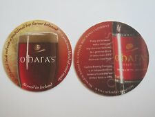 IRISH Beer Collectible Coaster ~ O'HARA'S Irish Red ~ Carlow Brewing, IRELAND