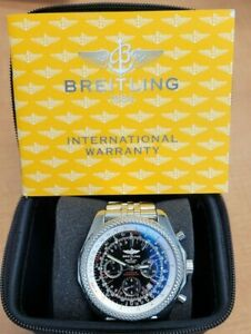 Breitling Bentley Motors Special Edition Watch A25362 Box/Papers Included