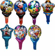 MICKEY MOUSE AIR FILL HANDLED BALLOON 1st BIRTHDAY PARTY LOLLY BAG FILLER TOY