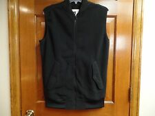 Burton Dryride Vest Womens Black Zipper Fleece Size S EUC! Long Length EUC