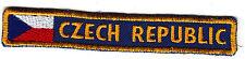 Boy Scout Badge NATIONAL flag/strip CZECH REPUBLIC