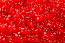 Albanese Red Gummy Bears Wild Cherry Flavor 5 POUND Bulk FREE SHIPPING