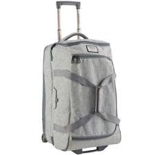 Maletas y equipaje gris con 2 ruedas