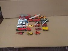 Lot Of Hot Wheels / Matchbox And Other Due Cast Cars Fire Trucks And More