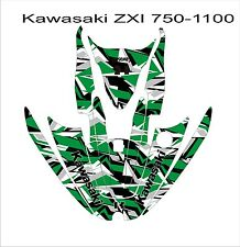 KAWASAKI ZXi 750 1100 jetski Jet Ski Graphic Kit Wrap pwc decals stickers 6