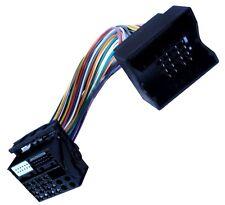 Adaptateur faisceau câble fiche ISO pour autoradio Quadblock Seat Ibiza Altea