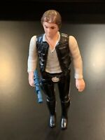 Vintage 1st 12 Han Solo Star Wars Action Figure 1977 Hong Kong - COMPLETE