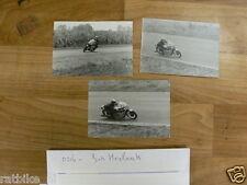O216-JOS HEYLAERTS 500CC SEELEY ROADRACE PHOTO'S 1971 ZANDVOORT,HENGELO GLD