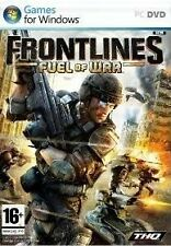 FRONTLINES - Fuel of War - PC 2 DVD's - Brand New