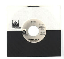 "Four Seasons Frankie Valli 1977 Private Stock Promo 45rpm ""Easily"" Mono & Stereo"