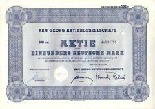 ARN. Georg Neuwied 100dm 1965