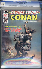 Savage Sword of Conan #4 CGC NM+ 9.6 Robert E Howard