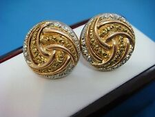 ANTIQUE 14K ROSE, GREEN GOLD AND PLATINUM CUFFLINKS,CIRCA LATE 1800'S,10.4 GRAMS