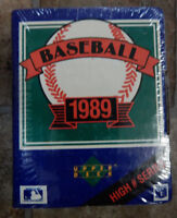 1989 UPPER DECK BASEBALL CARDS NUMBER 701-800 SERIES FACTORY SET-SEALED
