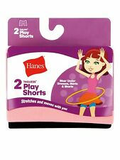 Hanes® Girls' Play Short, 2 pack   NEW!!!!