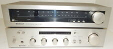 Technics SU-8011 integrated amplifier with matching ST-801 tuner