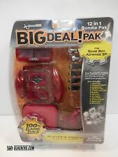 DreamGear BIG DEAL! 12-In-1 Bundle Pak NEW! Game Boy Advance SP RED GBA Surv Kit