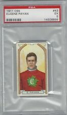 1911 C55 #43 Imperial Tobacco Eugene Payan Montreal Canadiens PSA 5