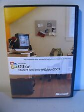 Microsoft Office Student and Teacher Edition 2003 Windows 2000, XP FREE SHIP!