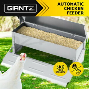 [20%OFF] Giantz Automatic Chicken Feeder Coop Chick Poultry Treadle Self Opening