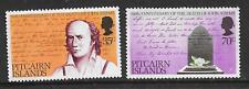 PITCAIRN ISLANDS POSTAL ISSUE - MINT COMMEMORATIVE SET 1979 - JOHN ADAMS
