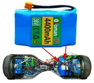 Original 4.4 5.2 Ah 4400mah 36v Lithium Battery Pack For Balance Scooter Board