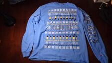 North Carolina Tarheels Happy Holidays Long Sleeve Graphic T-Shirt Tee, Size XL