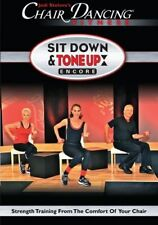 CHAIR DANCING SIT DOWN TONE UP ENCORE SENIOR DVD NEW CITIZEN OLDER ADULT WORKOUT