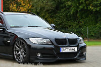 Sonderaktion Frontspoiler Frontansatz aus ABS passend für BMW E90 E91 3er 08-11