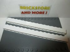 Lego - 2x Brick Brique 1x16 16x1 2465 White/Blanc/Weiss