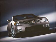 2004 04 Cadillac  XLR  original sales brochure