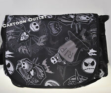 DISNEY JACK MESSENGER BAG/TOTE/BACKPACK BLACK CANVAS/DIAPER BAG DANCE BAG CUTE