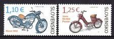 Slovakia 2014 Motorcycles Set 2 MNH