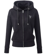 More details for whippet whippy gifts embroidered ladies organic full zip hoodie