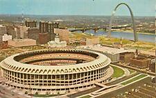 St Louis MO ~ Busch Monumento Estadio ~ Lote De 6 Tarjetas Postales