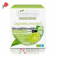 Bielenda Bouquet Nature Cucumber & Lime Moisturizing Mattifying Face Cream 50ml